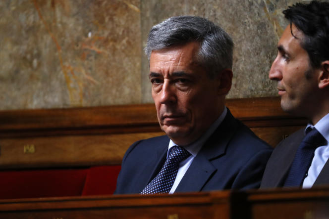 Henri Guaino, le 15 juin 2016, à l'Assemblée nationale.