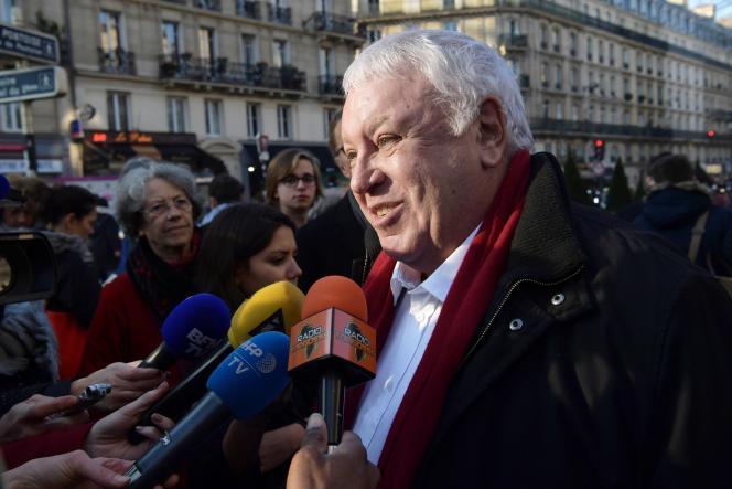 Gérard Filoche, en décembre 2016.