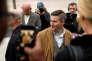 Richard Spencer à son arrivée sur le campus de l'université texane A&M, où il donnait une conférence, le 6 décembre 2016.