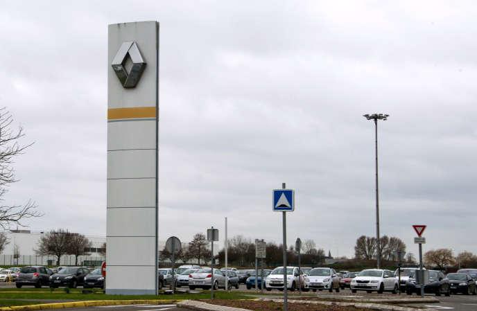 Enseigne Renault à Douai, le 15 janvier.