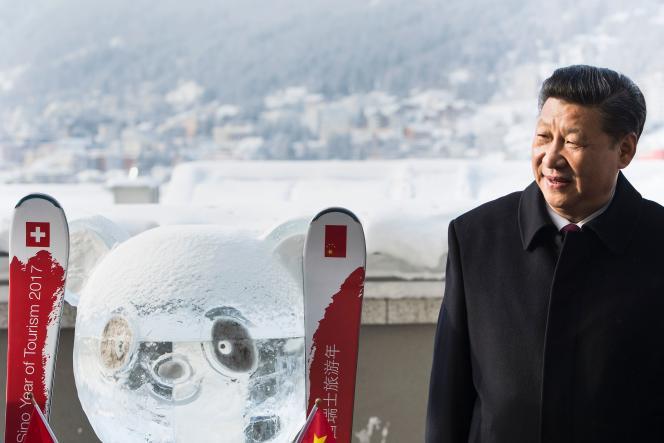 Le président chinois, Xi Jinping, à Davos le 17 janvier.