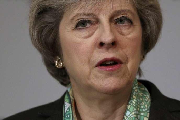Le premier ministre britannique Theresa May, le 9 janvier.