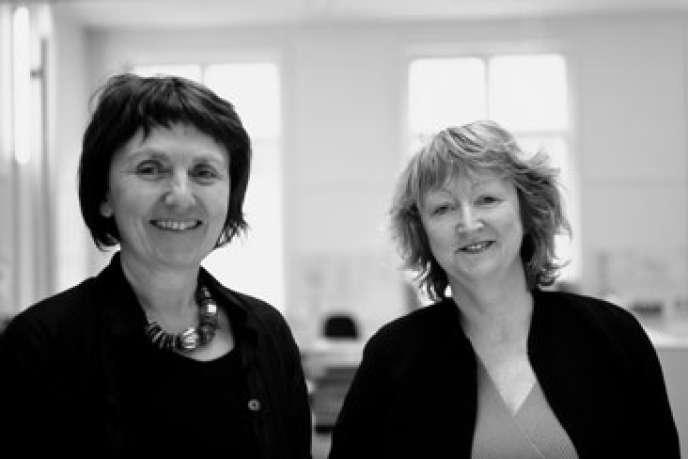 Yvonne Farrell et Shelley McNamara, fondatrices de l'agence Grafton architects, commissaires générales de la Biennale de Venise 2018.