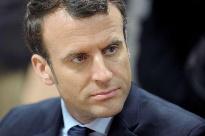Emmanuel Macron, le 17 janvier auGuilvinec (Finistère).