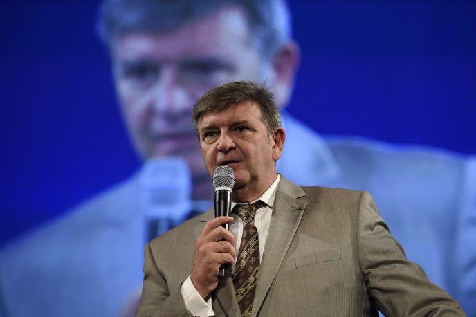 Jean-Marc Borello, président du groupe SOS, à Paris, en novembre 2015.