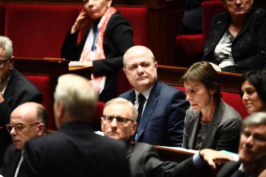 Une séance de questions au gouvernement à l'Assemblée nationale avec le ministre de l'intérieur Bruno Le Roux, le 17 janvier.