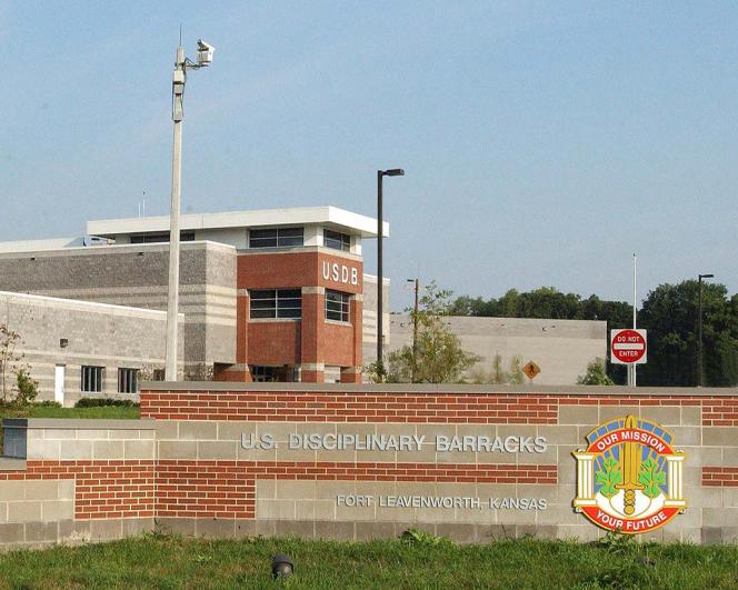 Le quartier disciplinaire de Fort Leavenworth, au Kansas.