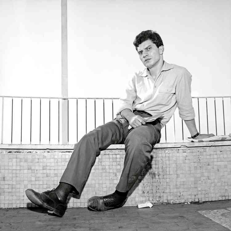 Luigi Tenco, en 1962.