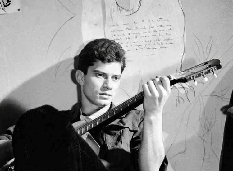 Luigi Tencoa aussi mené une brève carrière d'acteur. Ici sur le tournage de «La Cuccagna», en 1962.
