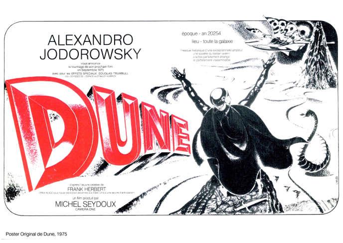 Poster Original de Dune, 1975