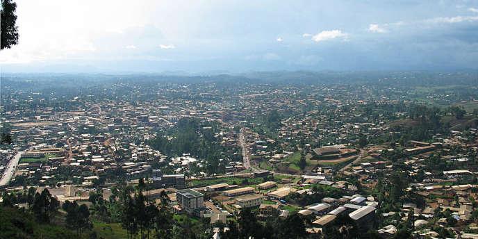 La ville de Bamenda, chef-lieu de la région du Nord-Ouest, dans la partie anglophone du Cameroun.