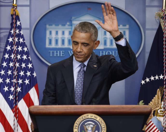 Vendredi 30 août 2013, le président Obama prenait l'une des décisions les plus importantes de son second mandat : choisir de ne pas ordonner les frappes contre le régime syrien.