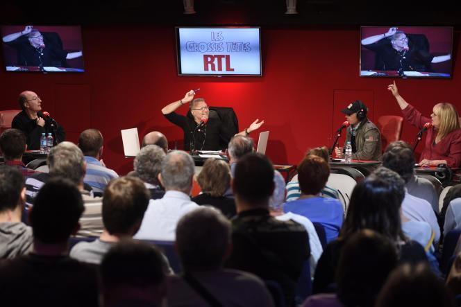Laurent Ruquier anime« Les Grosses Têtes» sur RTL depuis 2014.