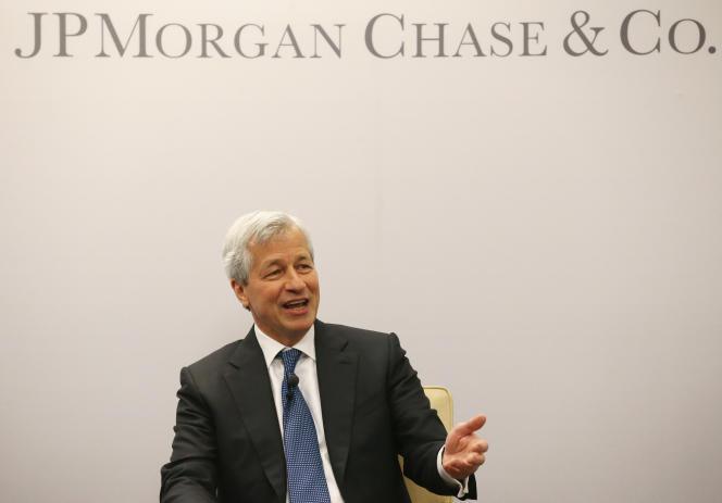 Le patron de JPMorgan Chase Jamie Dimonen avril 2016 à Washington.