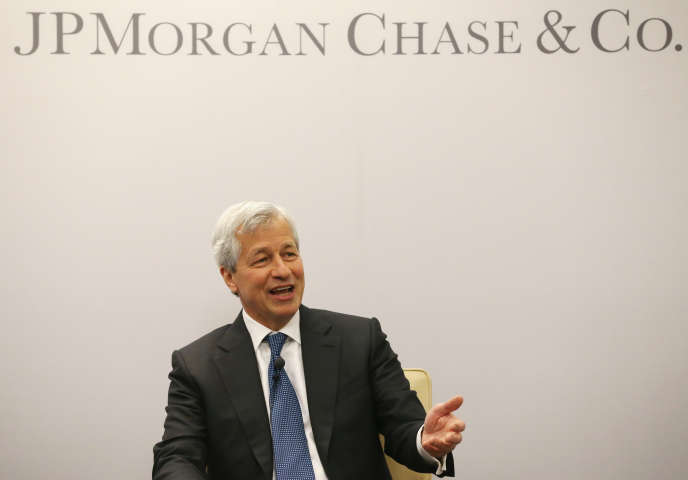 Le patron de JPMorgan Chase Jamie Dimon en avril 2016 à Washington.