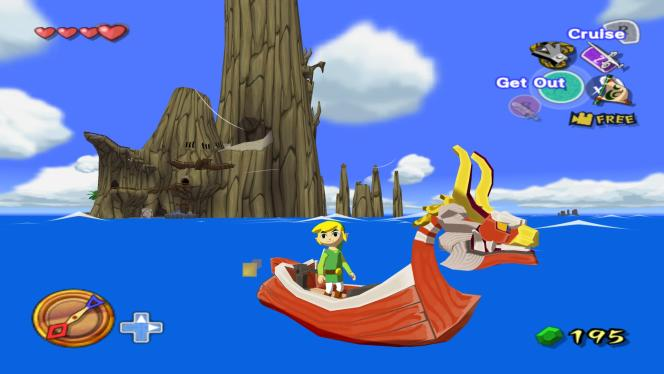 Wind Waker, sur Game Cube