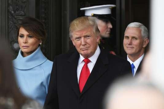 Donald Trump a été investi le 20 janvier.