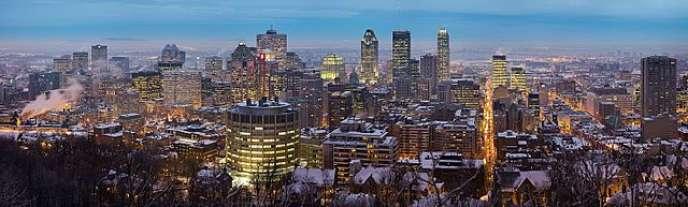 Panorama de la ville de Montréal - Wikipedia - CC BY-SA 3.0