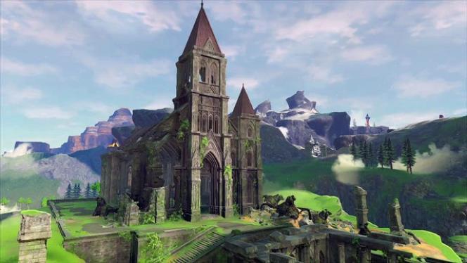 Les vestiges du Temple du Temps dans« The Breath of the Wild»