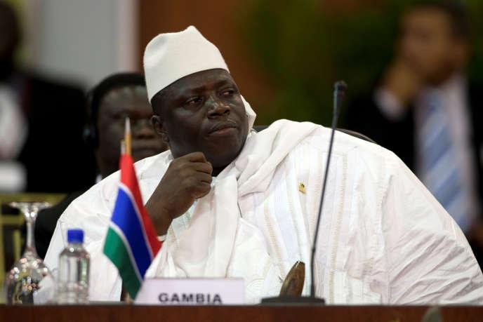 Yahya Jammeh le 27 septembre 2009.