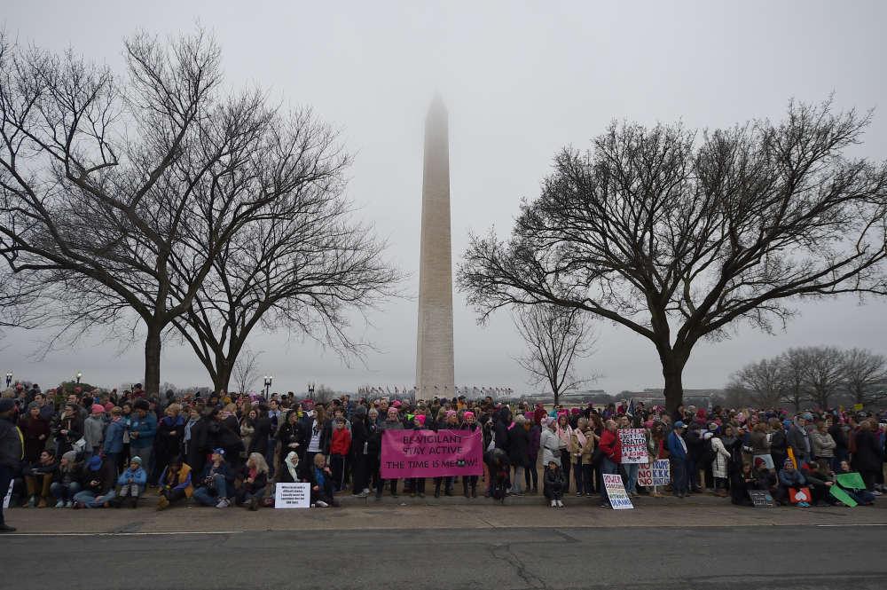 La manifestation la plus importante a eu lieu dans la capitale américaine, quelques heures après l'investiture du président et, potentiellement, plus grande que cette dernière.
