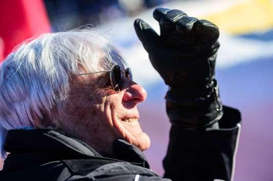Bernie Ecclestone, en Autriche, le 21 janvier.