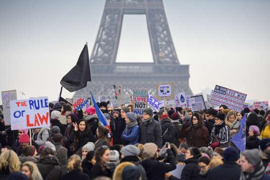 A Paris, le 21 janvier.