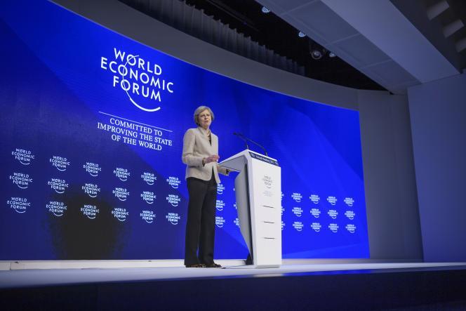 « Le Brexit n'est pas un vote contre le libre-échange. D'ailleurs, nous voulons d'avantage de libre-échange », a défendula première ministre britannique, Theresa May, le 19 janvier, au Forum économique mondial.