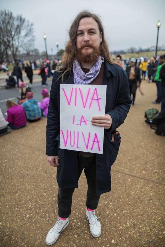 Colin Reilly : « Je suis venu pour soutenir les femmes qui sont dans ma vie ».