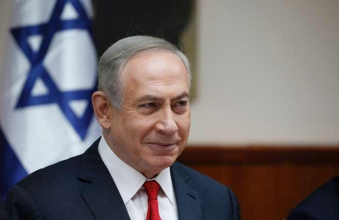 Le premier ministre israélien, Benyamin Nétanyahou, aannoncé qu'il allait s'entretenir dans la soirée au téléphone avec Donald Trump notamment« sur des sujets portant sur les Palestiniens ».