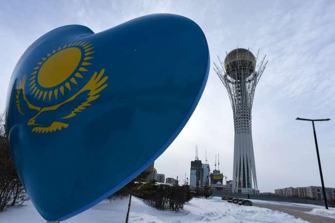 A Astana, la capitale du Kazakhstan, le 22 janvier.