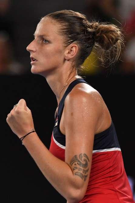 La Tchèque Karolina Pliskova (5e mondiale) a dominé l'Australienne Daria Gavrilova (26e mondiale) en deux sets : 6-3, 6-3. En quarts, elle sera favorite contre la Croate Mirjana Lucic-Baroni (79e mondiale), tombeuse de l'Américaine Jennifer Brady en huitièmes (116e mondiale).