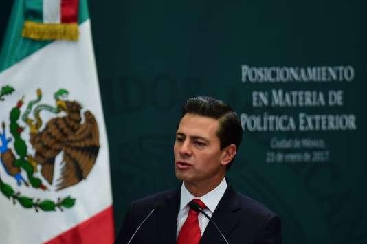 Enrique Pena Nieto le 23 janvier