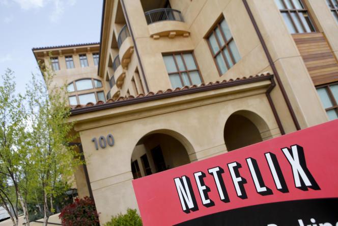 Le siège de Netflix, à Los Angeles, en 2011.
