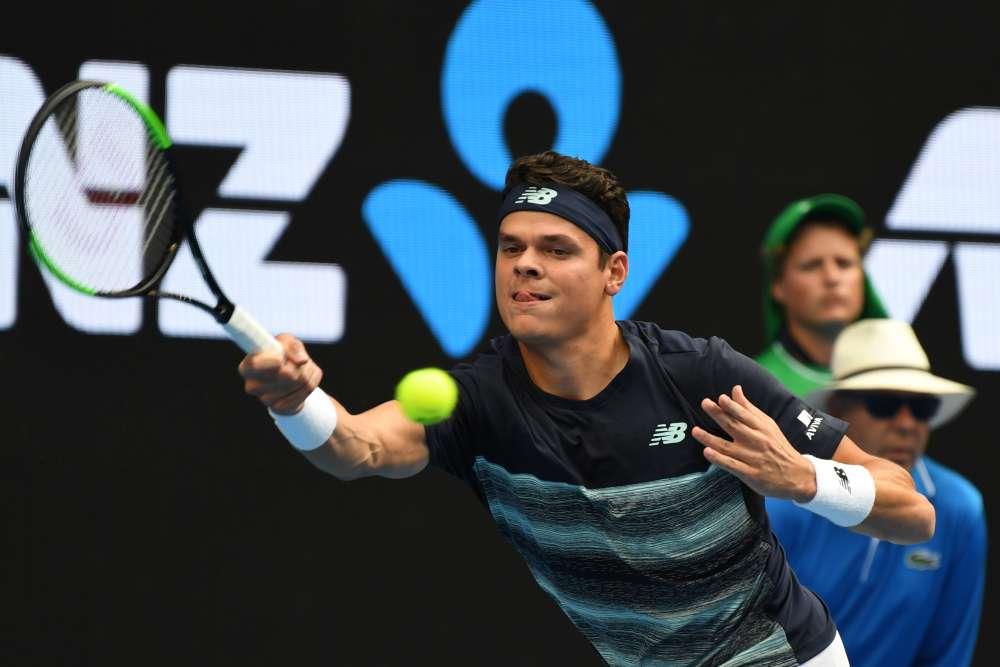 Le Canadien Milos Raonic (3e mondial) a bataillé quatre sets pour venir à bout de l'Espagnol Roberto Bautista Agut (14e mondial) : 7-6(6), 3-6, 6-4, 6-1. Il retrouvera en quarts le vainqueur du duel Monfils-Nadal.