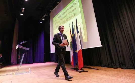 Emmanuel Macron, à Beyrouth, le 23 janvier.