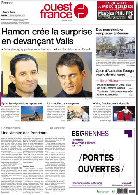 « Le Parti socialiste en a vu d'autres dans son histoire, mais il est mal en point », reconnaît Michel Urvoy, de « Ouest-France ». Et «cette cassure aura des conséquences électorales immédiates », prévient-il.