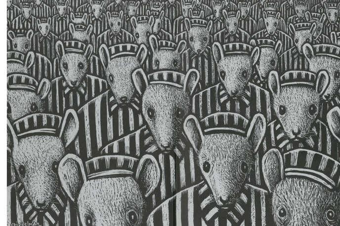 Page de garde de l'édition intégrale (1998) de «Maus», d'Art Spiegelman.
