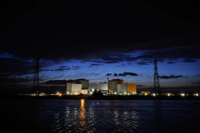 François Hollande s'était engagé à fermer la centrale de Fessenheim, dans le Haut-Rhin, ici prise en photo en mars 2014.