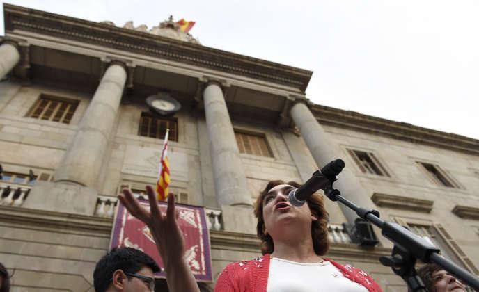 La maire de Barcelone, Ada Colau, en juin 2015.