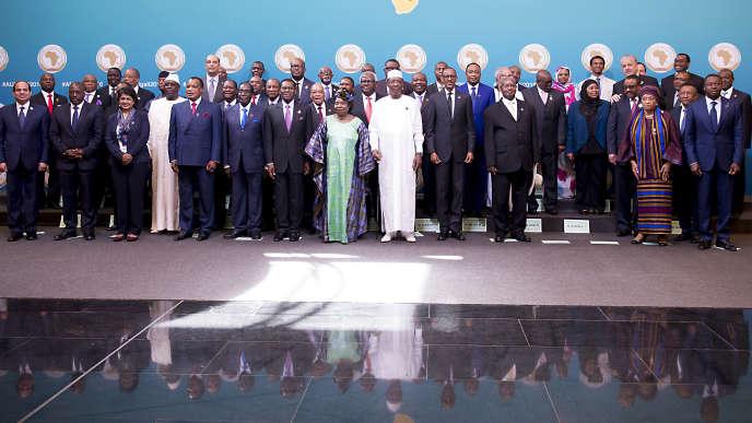 27e sommet de l'Union Africaine le 17 juillet 2016 à Kigal (Rwanda).