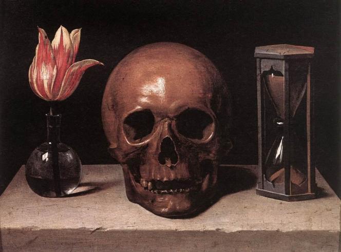 Vanité (1644) de Philippe de Champaigne, exposée au musée de Tessé au Mans.