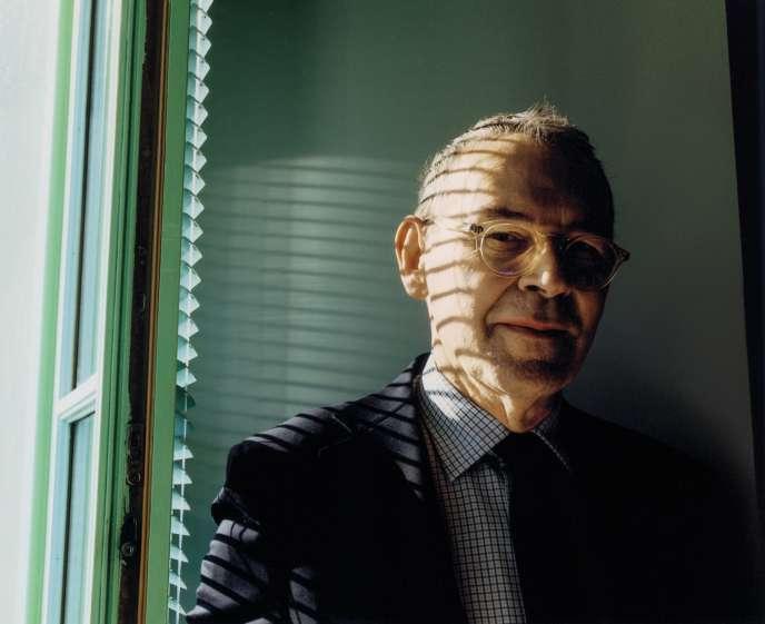 Jean-Jacques Aillagon, le12janvier2017, dans son bureau niçois.