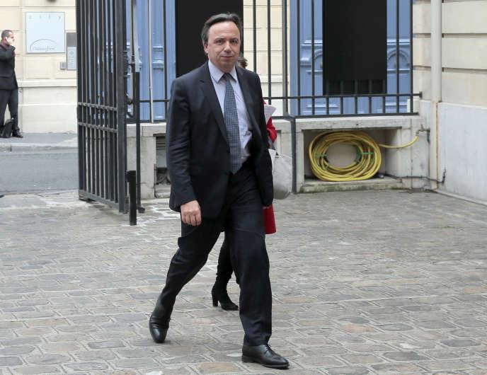 Michel Yahiel, à Paris, en avril 2014.