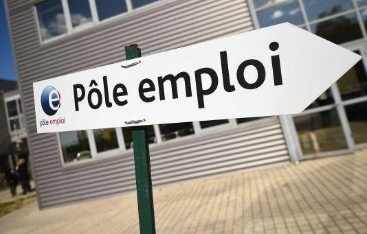 A l'agence Pôle emploi de Montpellier, le 27 avril 2016.