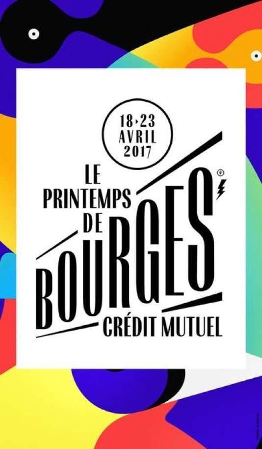 L'affiche de la 41e édition du festival du Printemps de Bourges.