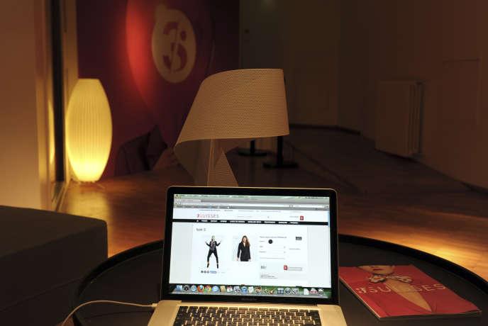 Le site du spécialiste de la vente par correspondance les 3Suisses.Le chiffre d'affaires du vépéciste, qui atteignait encore 915millions d'euros en2004, est tombé à 120millions en2015, accompagné de 60millions de pertes.