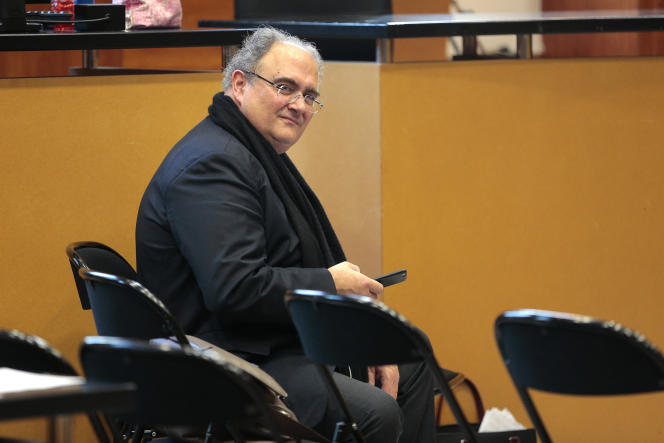 Paul Giacobbi au tribunal de Bastia, le 1er décembre.