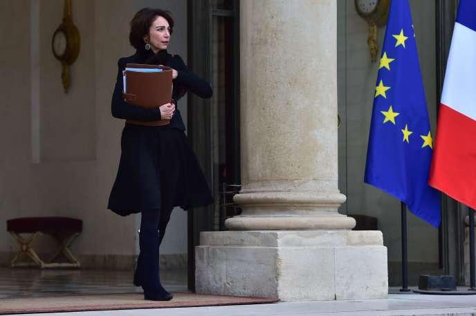 Marisol Touraine, à l'Elysée, le 25 janvier 2017.