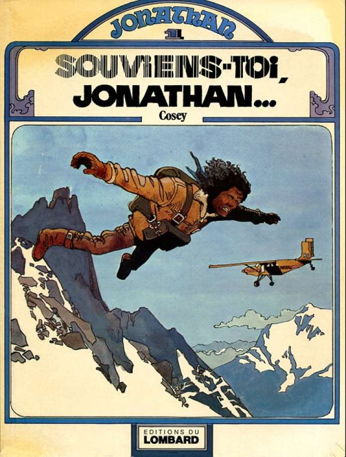 «Souviens-toi, Jonathan», premier album de Bernard Cosey, paru en 1977.